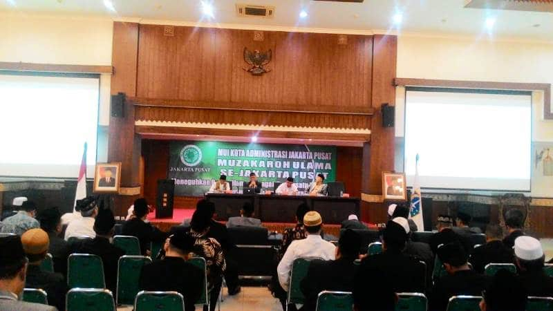 MUI Jakarta Pusat Gelar Muzakaroh Ulama